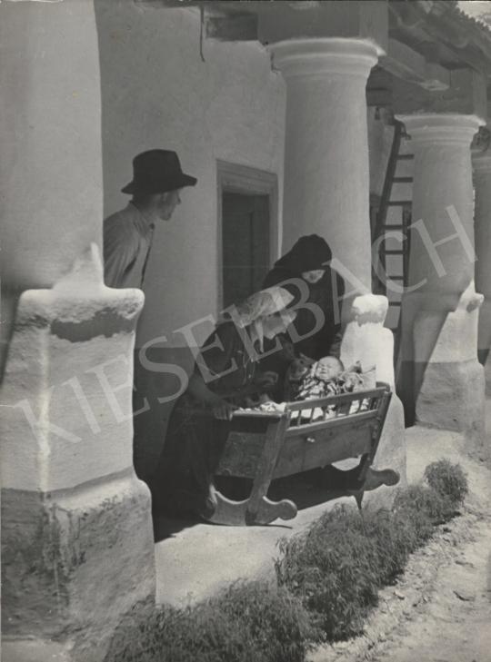 Eladó  Szőllősy Kálmán - Első napsugár (Generációk), 1950 körül festménye