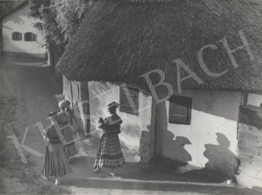 For sale  Szőllősy, Kálmán - Hungarian Village (Mezőkövesd), c. 1938 's painting