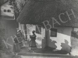 Szőllősy Kálmán - Magyar falu (Mezőkövesd), 1938 körül