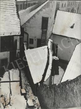 Szőllősy, Kálmán - Snowed Roofs (Szentendre(, 1950s