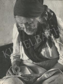 Szőllősy Kálmán - A varrás, 1948