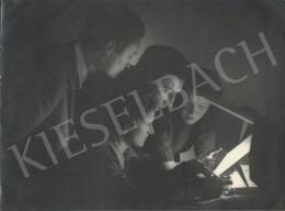 Szőllősy Kálmán - Retusálás, 1948 körül