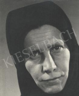 Szőllősy Kálmán - Parasztasszony portréja, 1948 körül