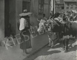 Szőllősy, Kálmán - Market in Transylvania, 1939