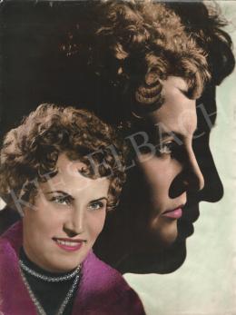 Szőllősy, Kálmán - Triple Portrait, 1960s