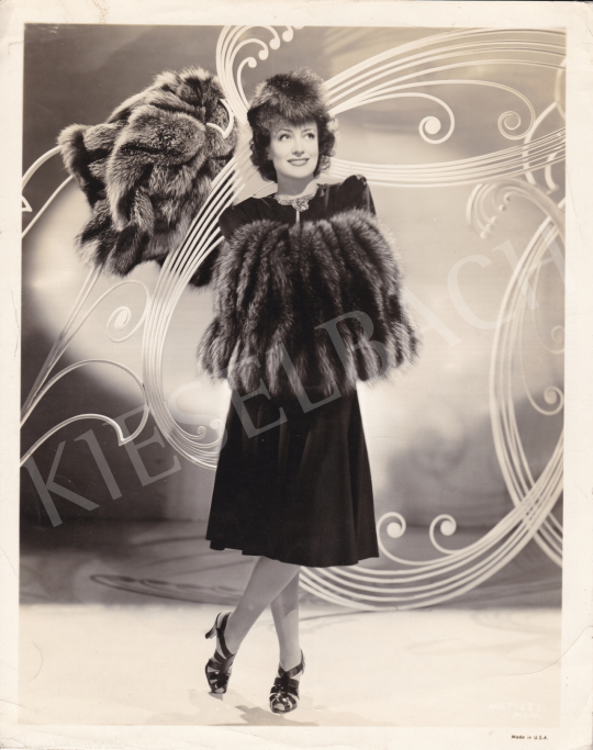 For sale  Metro-Goldwyn-Mayer - Black for the New Season (Joan Crawford), 1940 's painting