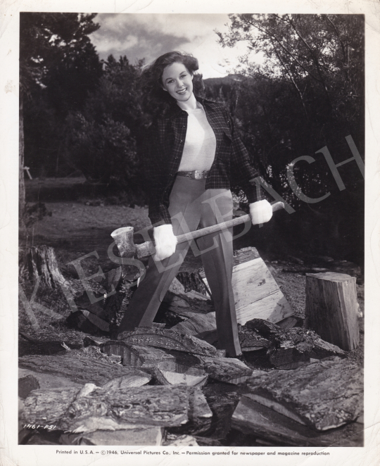 For sale  Universal Pictures Co. - Susan Hayward (The Timber), 1946 's painting