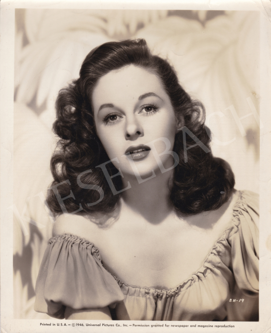 For sale  Universal Pictures Co. - Susan Hayward, 1946 's painting