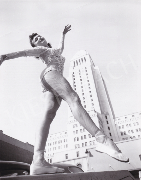 For sale  International News Photos - Ballet-Dancer in the City, c. 1945 's painting