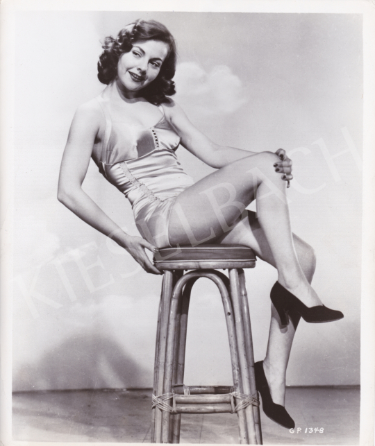 For sale  International News Photos - Laura Elliott, c. 1950 's painting