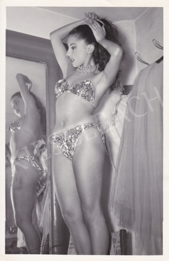 For sale  D. Esposto (International News Photos) - Angel in Bikini, 1949 's painting