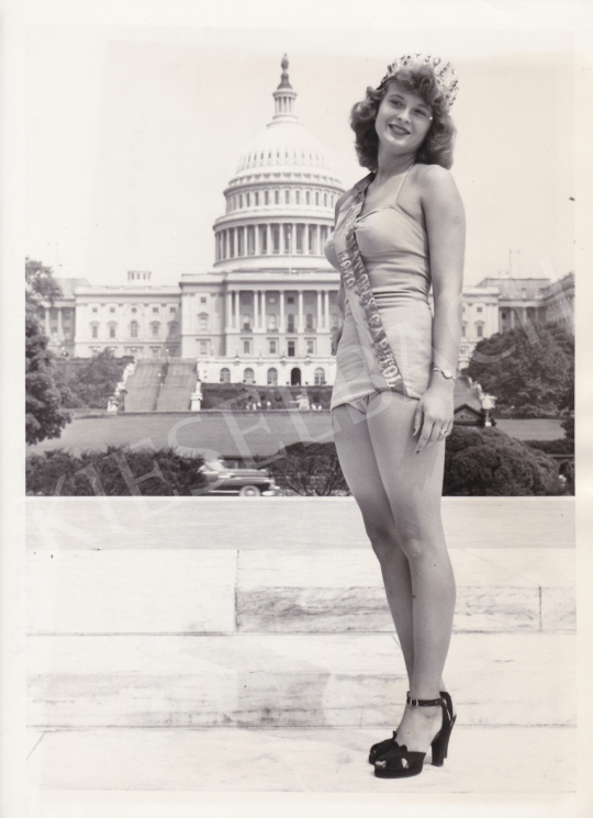 For sale  Al, Muto (International News Photos) - Miss Nation's Capital, 1949 's painting
