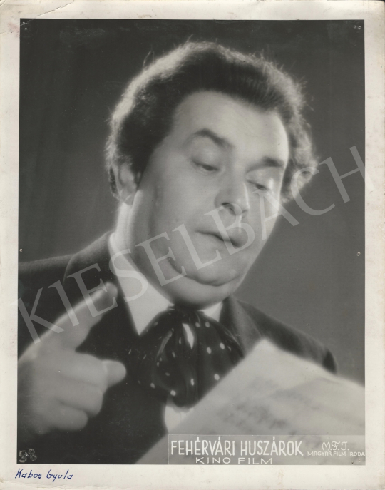 For sale  Magyar Film Iroda - Gyula Kabos Performing in the Movie of Fehérvári huszárok, 1939 's painting