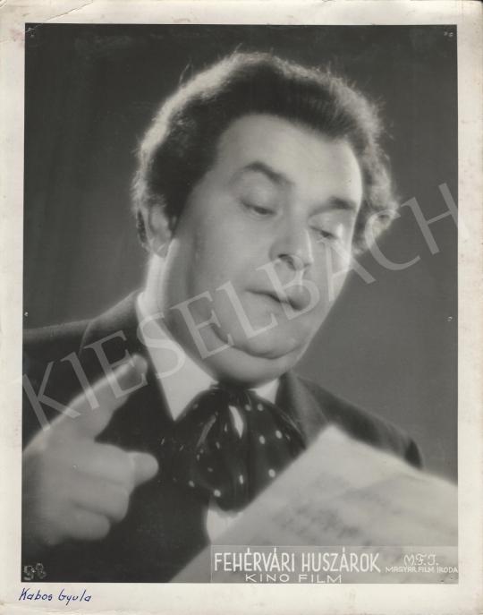 Eladó  Magyar Film Iroda - Kabos Gyula a Fehérvári huszárok című filmben, 1939 festménye