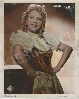 Foto Ufa - Erna Sack a Nanon-ban, 1938-39