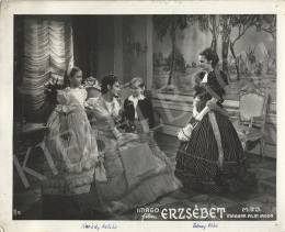 Unknown artist - Katalin Kárády and Klári Tolnay in the movie of Elisabeth II., 1940
