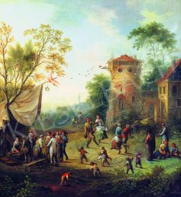 Vollerdt, Johann Christian - Falusi mulatság
