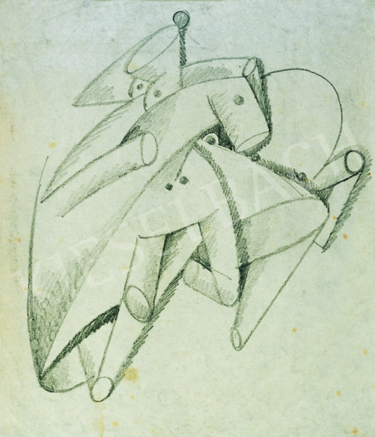 Eladó  Kádár Béla - Lovak festménye