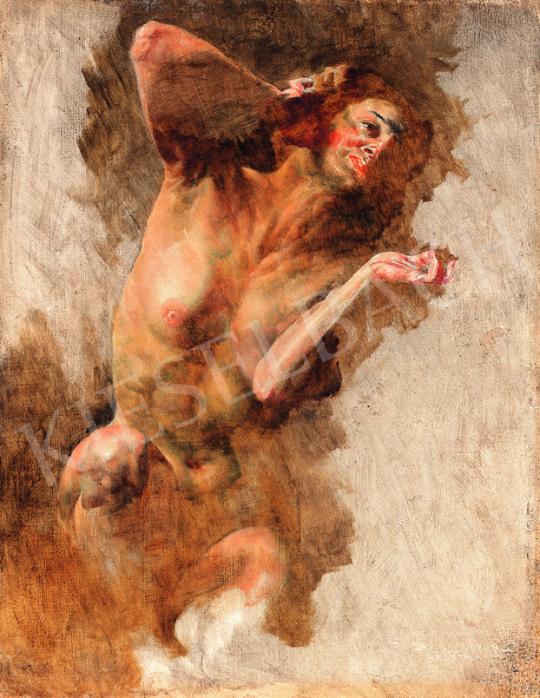 Eladó  Karlovszky Bertalan - Női akt festménye