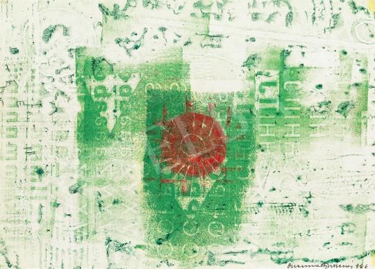 Eladó Gyarmathy Tihamér - Napkelte, 1966 festménye