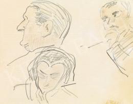 Vaszary János - Horthy Mikós profilja és más fejek