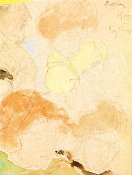 Rippl-Rónai József - Női fejek (Anella), 1904