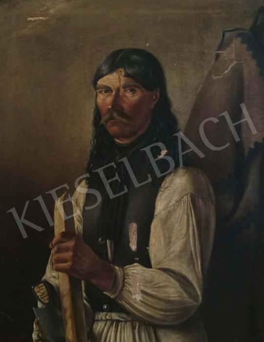 For sale  Somssich, József - Portrait of a Craftsman 's painting
