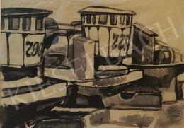 Gruber, Béla - Barges, 1961