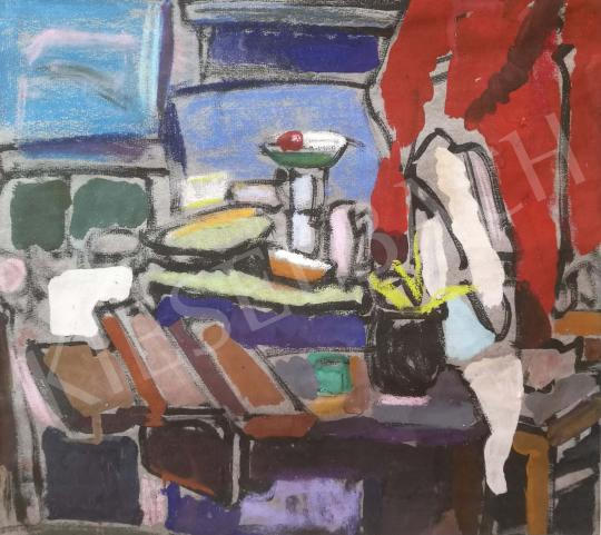 Gruber Béla - Műtermi csendélet festménye