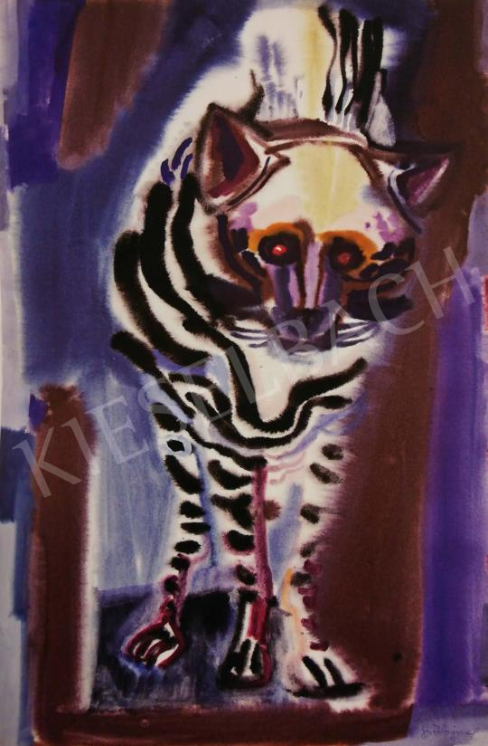 Hajnal, János - Animal Pictures, 1960's painting