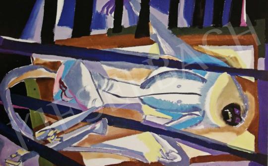 Hajnal János - Állatképek, 1960-as évek festménye