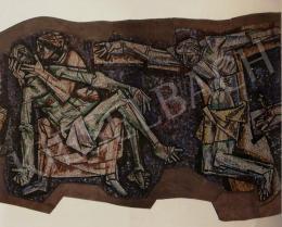 Hajnal János - Keresztút (részletek), Firenze, 1960