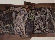 Hajnal, János - Crossroad (Details), Firenze, 1960 painting