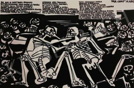 Hajnal János - Illusztráció, Trilussa, 1977 festménye