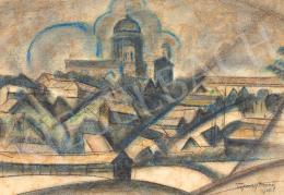 Tipary, Dezső - Dynamic Town, c. 1920