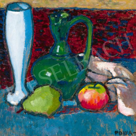 Pólya Tibor - Műtermi csendélet, 1910-es évek | 59. Őszi Aukció aukció / 13 tétel