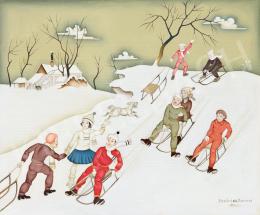 Basilides, Barna - Winter Mood (Sleighing)