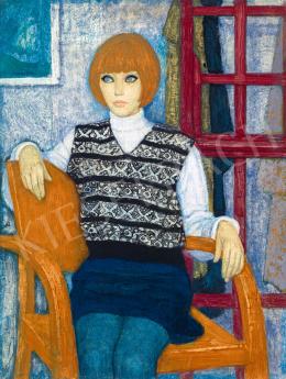 Czene, Béla jr. - Light Blue Eyes, Dark Blue Mini Skirt