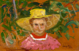 Perlmutter Izsák - Kis kertészlány, 1905