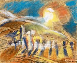 Egry, József - Sunlight in Badacsony
