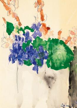 Ferenczy, Béni - Violet in a Vase, 1965