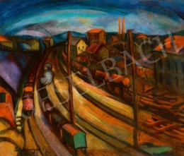 Schönberger, Armand - City (Rails), c. 1930