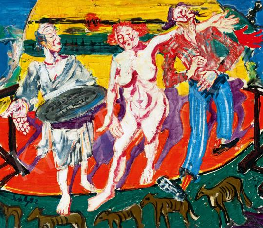 Sváby Lajos - Kikiáltók, 1982 | 59. Őszi Aukció aukció / 40 tétel