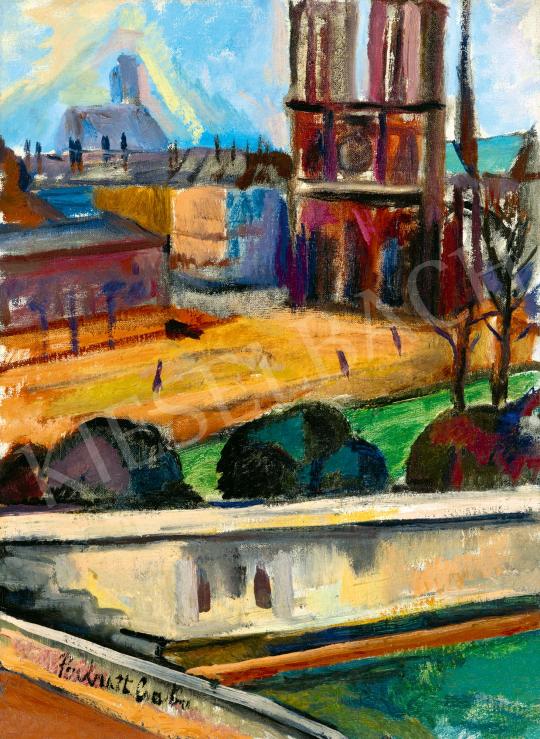 Perlrott Csaba Vilmos - Párizs (Notre Dame) | 59. Őszi Aukció aukció / 51 tétel