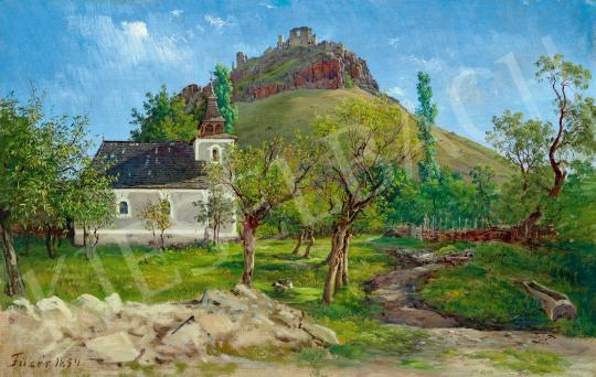 Ligeti Antal - Fűzér vára, 1854 | 59. Őszi Aukció aukció / 61 tétel