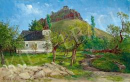 Ligeti Antal - Fűzér vára, 1854