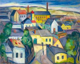 Schönberger Armand - Város, 1930 körül