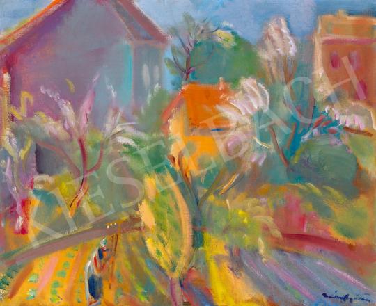Márffy Ödön - Tavaszi almafavirágzás a kertekben | 59. Őszi Aukció aukció / 86 tétel