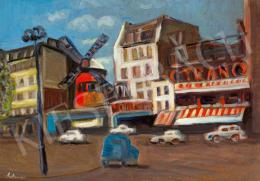 Schéner Mihály - Moulin Rouge (Párizs)
