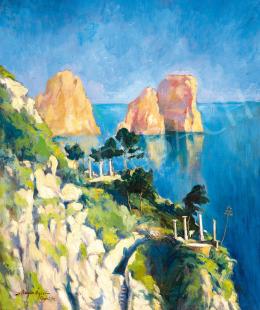 Bajor Ágost - Capri, 1927